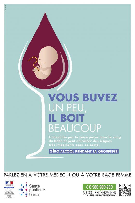 campagne grossesse alcool 560x840 la pharmacie du cora